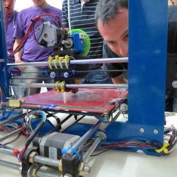 Viarava ofreció un taller de Impresoras 3D y robótica educativa