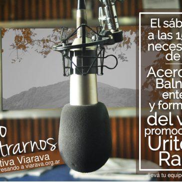 El sábado 12 acercate al balneario y conocé el proyecto de Uritorco Radio