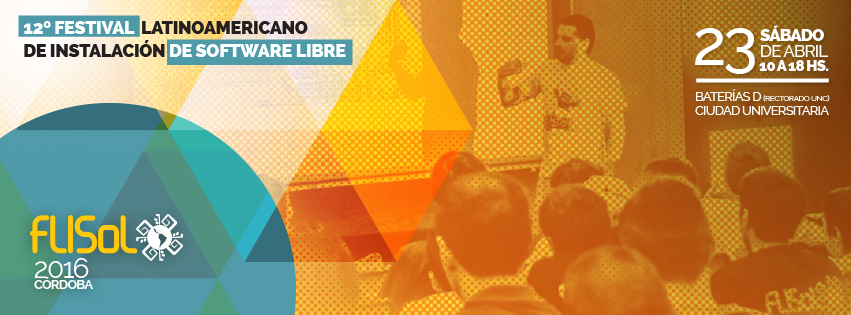 Uritorco Libre se suma al FLISoL Córdoba 2016