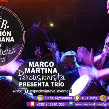Taller de percusión afrocubana con Marco Martina