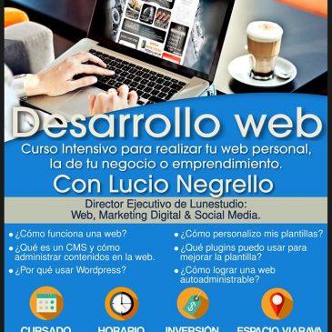 Curso intensivo de desarrollo web en Capilla del Monte