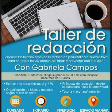 Taller de redacción con Gabriela Campos