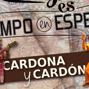 Cardona y Cardón presentan 'Lo antiguo es tiempo en espera'