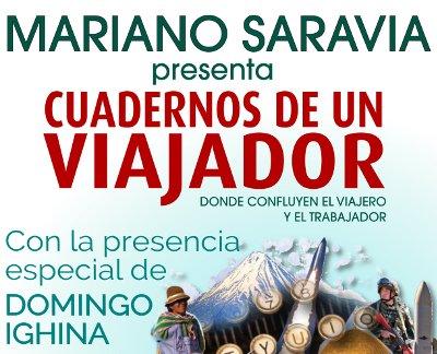Sábado 10 de diciembre: Mariano Saravia en Capilla del Monte