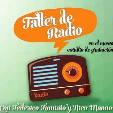 Comienzan los talleres de radio en Espacio Viarava