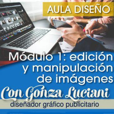 Aula diseño gráfico: comienza el taller de edición y manipulación de imágenes