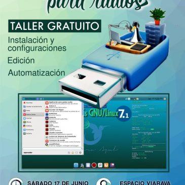 Software libre para radios. Taller gratuito en Espacio Viarava
