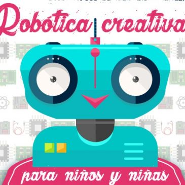 Taller de robótica creativa para niños/as en Espacio Viarava