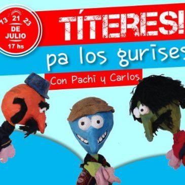 #Vacaciones2017: Títeres pa' los gurises se presenta en Espacio Viarava