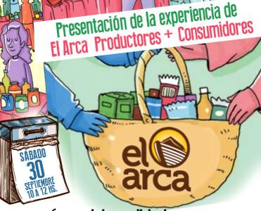 Presentación de la experiencia 'El Arca' Productores + Consumidores en Espacio Viarava