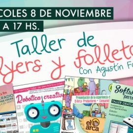 Taller intensivo de flyers y folletos en Espacio Viarava