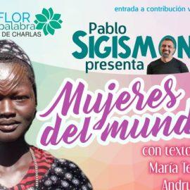 Mujeres del mundo: Pablo Sigismondi presenta libro en Espacio Viarava