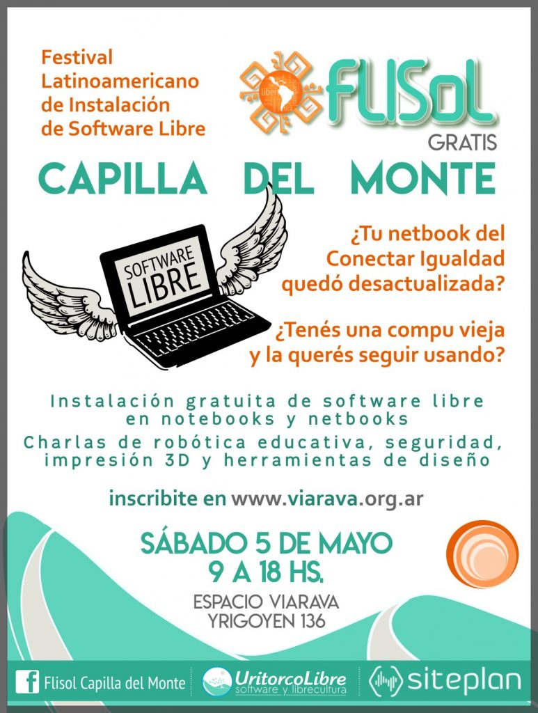 Flisol 2018  Festival de Software Libre en Capilla del Monte ... dc2ad2bbde96d
