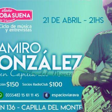 Abril en Viarava: Ramiro González se presenta en el Ciclo Córdoba Suena