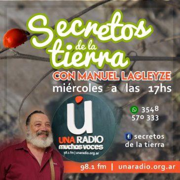 Manuel Lagleyze se suma al aire de Una Radio Muchas Voces