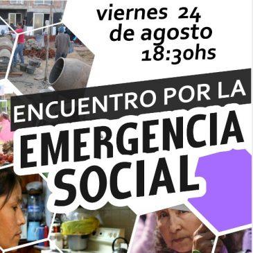 Encuentro por la Emergencia Social en Capilla del Monte