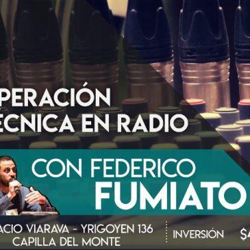 Operación técnica en radio: curso con Federico Fumiato